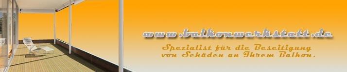 Balkon und Terrassensanierung TÜV-zertifiziert